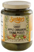 Apple Cinnamon Chunk Pickles