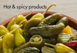 Hot and spicy products